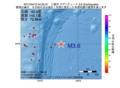 地震震源マップ:2017年04月12日 04時25分 三陸沖 M3.6