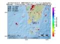 地震震源マップ:2017年04月12日 05時37分 薩摩半島西方沖 M3.1