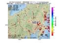 地震震源マップ:2017年04月12日 06時56分 群馬県南部 M2.6