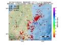 地震震源マップ:2017年04月12日 08時30分 福島県浜通り M3.1