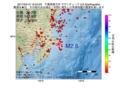 地震震源マップ:2017年04月12日 12時04分 千葉県東方沖 M2.6