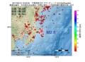 地震震源マップ:2017年04月12日 12時52分 千葉県東方沖 M2.8