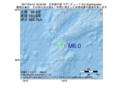 地震震源マップ:2017年04月12日 16時34分 日本海中部 M6.0