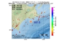 地震震源マップ:2017年04月12日 17時14分 釧路沖 M2.8