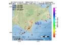 地震震源マップ:2017年04月12日 18時34分 十勝地方中部 M3.1