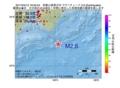 地震震源マップ:2017年04月12日 18時55分 和歌山県南方沖 M2.6