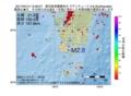 地震震源マップ:2017年04月14日 12時36分 鹿児島県薩摩地方 M2.8