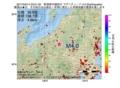 地震震源マップ:2017年04月14日 23時01分 新潟県中越地方 M4.0