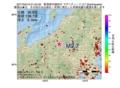地震震源マップ:2017年04月15日 01時54分 新潟県中越地方 M2.7