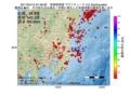 地震震源マップ:2017年04月15日 07時48分 茨城県南部 M2.5