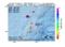 地震震源マップ:2017年04月15日 20時34分 奄美大島近海 M2.5