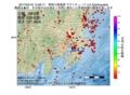 地震震源マップ:2017年04月16日 14時28分 神奈川県東部 M4.2