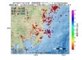 地震震源マップ:2017年04月17日 04時10分 茨城県南部 M2.5
