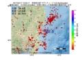 地震震源マップ:2017年04月17日 10時05分 茨城県北部 M2.8