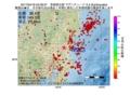 地震震源マップ:2017年04月18日 02時39分 茨城県北部 M3.3
