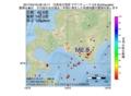地震震源マップ:2017年04月18日 08時16分 日高地方西部 M2.8