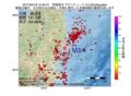 地震震源マップ:2017年04月18日 14時40分 茨城県沖 M3.4
