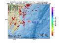 地震震源マップ:2017年04月18日 19時43分 茨城県沖 M2.5