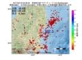 地震震源マップ:2017年04月19日 05時36分 茨城県北部 M2.5