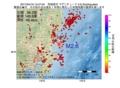 地震震源マップ:2017年04月19日 13時47分 茨城県沖 M2.6