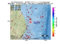 地震震源マップ:2017年04月20日 00時42分 岩手県沖 M2.7