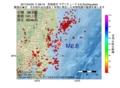 地震震源マップ:2017年04月20日 11時08分 茨城県沖 M2.6