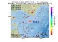 地震震源マップ:2017年04月20日 13時18分 浦河沖 M3.1