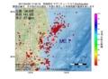 地震震源マップ:2017年04月20日 17時42分 茨城県沖 M2.7