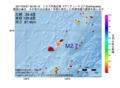 地震震源マップ:2017年04月21日 02時35分 トカラ列島近海 M2.7