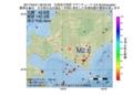 地震震源マップ:2017年04月21日 06時02分 日高地方西部 M2.6