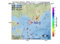 地震震源マップ:2017年04月21日 08時50分 浦河沖 M2.9