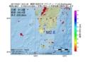 地震震源マップ:2017年04月21日 16時51分 薩摩半島西方沖 M2.6