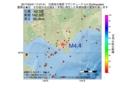 地震震源マップ:2017年04月21日 17時47分 日高地方東部 M4.4