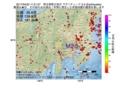 地震震源マップ:2017年04月22日 11時21分 埼玉県秩父地方 M2.5
