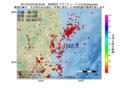 地震震源マップ:2017年04月22日 23時50分 茨城県沖 M2.5