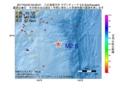 地震震源マップ:2017年04月23日 03時59分 八丈島東方沖 M2.6