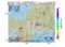 地震震源マップ:2017年04月23日 19時36分 岐阜県美濃中西部 M3.1