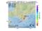 地震震源マップ:2017年04月24日 08時39分 日高地方中部 M3.5