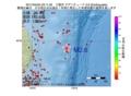地震震源マップ:2017年04月25日 23時11分 三陸沖 M2.6