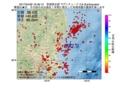 地震震源マップ:2017年04月26日 16時39分 茨城県北部 M2.9