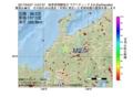 地震震源マップ:2017年04月27日 14時07分 岐阜県飛騨地方 M2.9