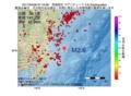 地震震源マップ:2017年04月28日 07時19分 茨城県沖 M2.6