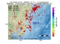 地震震源マップ:2017年04月28日 12時10分 茨城県沖 M2.8