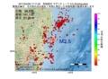 地震震源マップ:2017年04月28日 17時11分 茨城県沖 M3.5