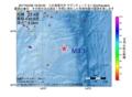 地震震源マップ:2017年04月28日 18時32分 八丈島東方沖 M3.1