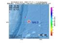 地震震源マップ:2017年04月29日 01時16分 三陸沖 M4.0