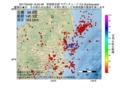 地震震源マップ:2017年04月29日 16時25分 茨城県北部 M2.5
