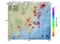 地震震源マップ:2017年04月29日 17時15分 千葉県北西部 M2.9