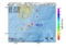 地震震源マップ:2017年04月29日 21時52分 大隅半島東方沖 M3.5