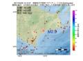 地震震源マップ:2017年04月30日 15時12分 釧路地方中南部 M2.9